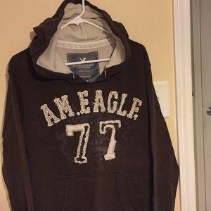 American Eagle hoodie. Thermal lined hood.